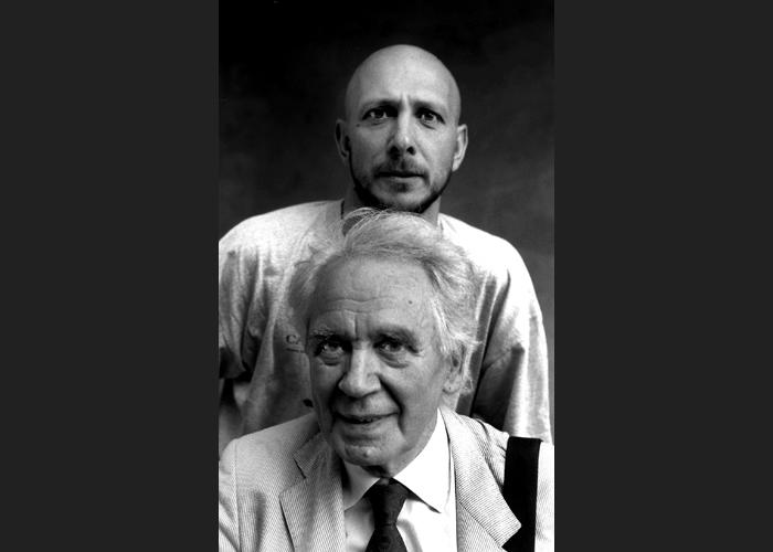 Massimo Somaglino con Miklos Hubay