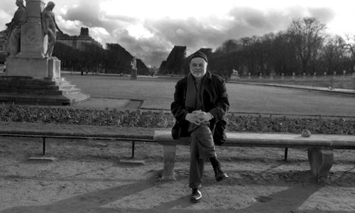 Ivan Theimer-giardini del Lussemburgo a Parigi