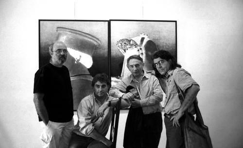 Roberto Micheli-Gianluigi Colin-Mario Dondero e Danilo De Marco