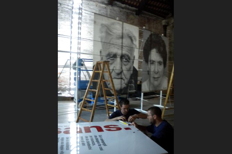 Preparativi alla Biennale