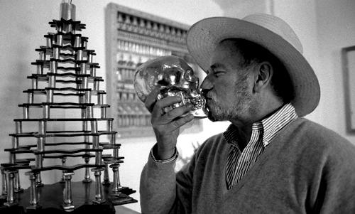Pedro Friedeberg a San Miguel de Allende in Messico