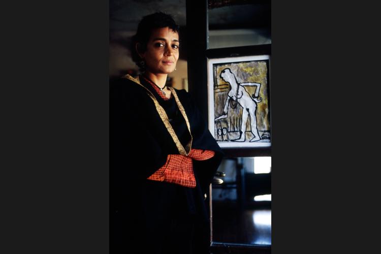 Arundhati Roy a New Delhi