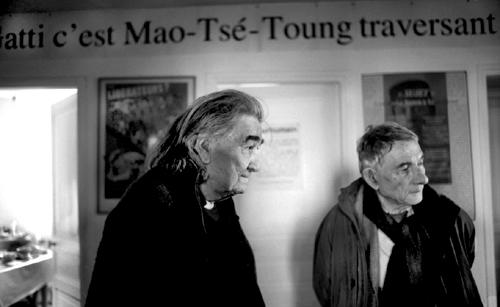 Armand Gatti e Mario Dondero a Montreuil