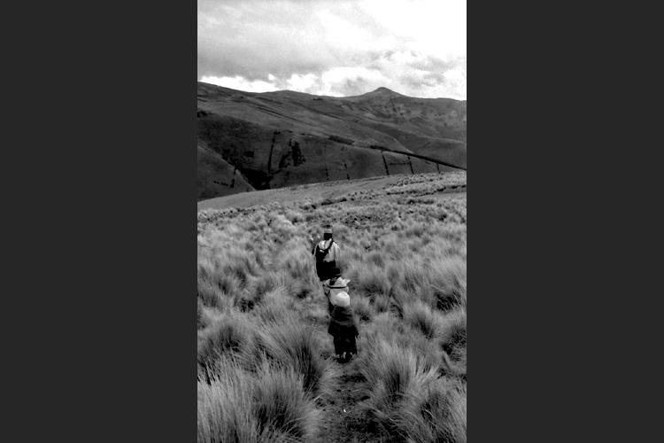 Ramona in cammino tra le Ande