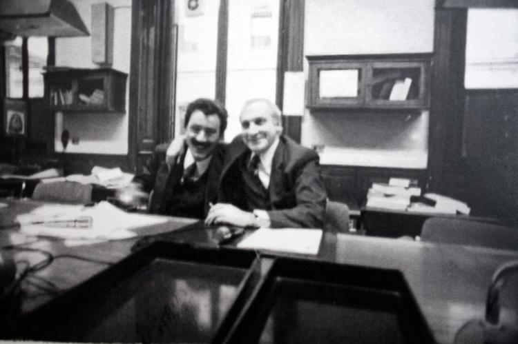 Marzio Breda e Alberto Cavallari al Corriere della Sera