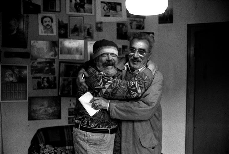Marzio Breda con Federico Tavan