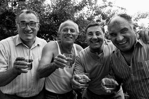 Felica Antoniali, Angelo Favretto, Dino Peresson, Toni Mio (Ligugnana,1992)