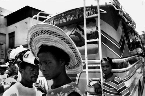 Per le strade di Port-au-Prince