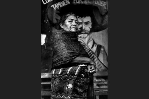 Donna dell'Organizzazione campesina Emiliano Zapata-Venustiano Carranza-Chiapas