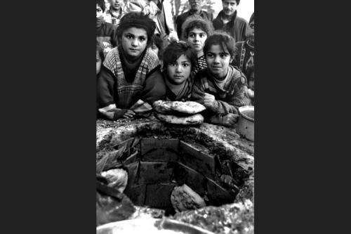 Il pane-Tendopoli di Kesan-Provincia di Edirne