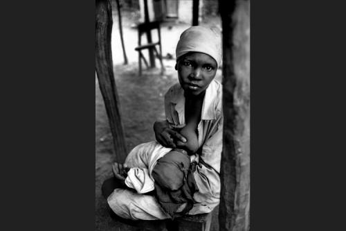 Maternità haitiana