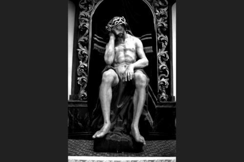 Il Cristo ebbro sceso dalla croce