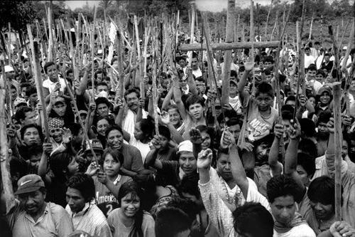 Campesinos solidarizzano con il popolo U'wa   Cubarà