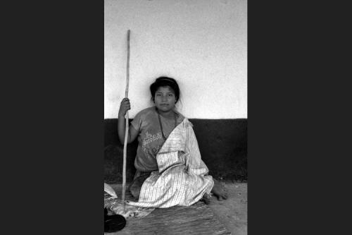 Giovane indigena U'wa
