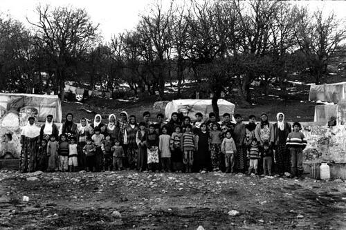 Le donne della tendopoli di Kesan-Provincia di Edirne