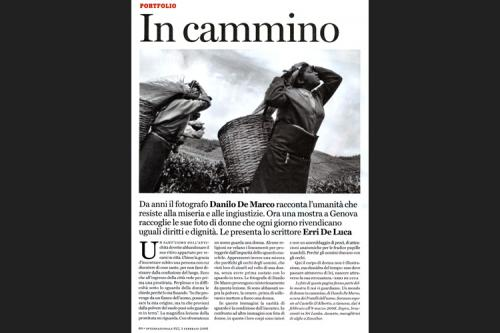 Un mondo di donne in cammino