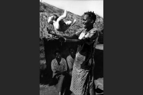 Madre coraggio nel campo protetto di Pagak - Gulu
