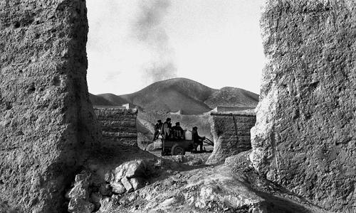 Muri con trattore - Tong Yuang - Gansu