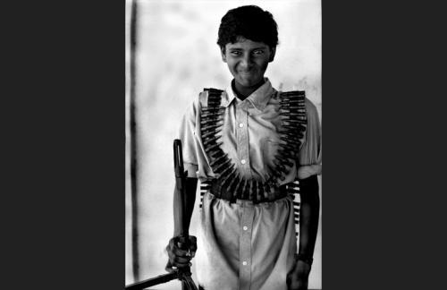 Arantha giovane combattente delle Tigri Tamil-Batticaloa
