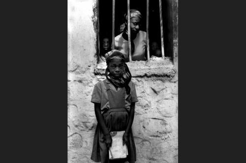 Giovane studentessa a Foret-Les-Pines