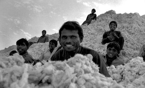Fabbrica di cotone nella valle della Narmada-Maharashtra