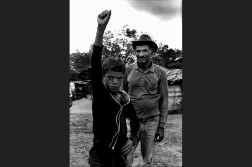 Assemblea dei senza terra-Accampamento Bela Vista-Pernambuco