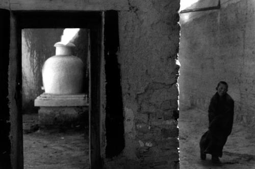 Piccolo monaco buddista - Xiah'e - Gansu