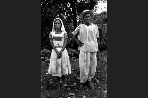 Coppia di campesinos-Huasteca