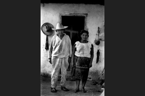 Coppia di campesinos-Chiapas